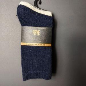 Frye cashmere boot socks